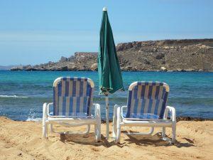 Strand Liegestühle