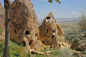 Türkei Kappadokien Felswohnungen